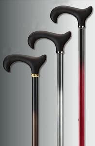 Aluminium wandelstok Duo - Derby Soft