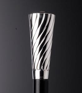 Sterling zilver sierlijke knop
